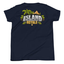 Load image into Gallery viewer, Island Royale Back Logo Youth T-Shirt