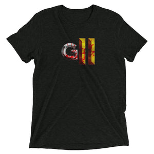 Gladiators 2 Extra Bloody Logo T-Shirt Tri-Blend