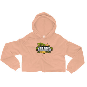 Island Royale Women's Fleece Crop Hoodie