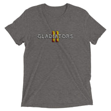 Load image into Gallery viewer, Gladiators 2 Clean Full Logo T-Shirt Tri-Blend