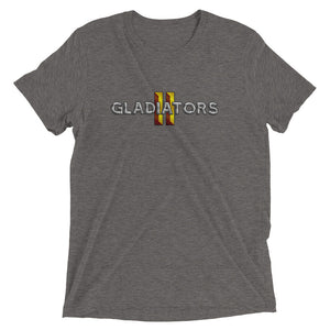 Gladiators 2 Clean Full Logo T-Shirt Tri-Blend