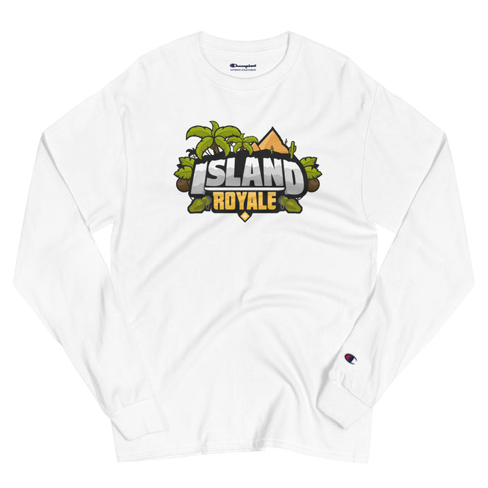 PERSONALIZED Island Royale Champion Long Sleeve Shirt