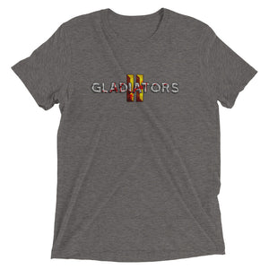 Gladiators 2 Bloody Full Logo T-Shirt Tri-Blend