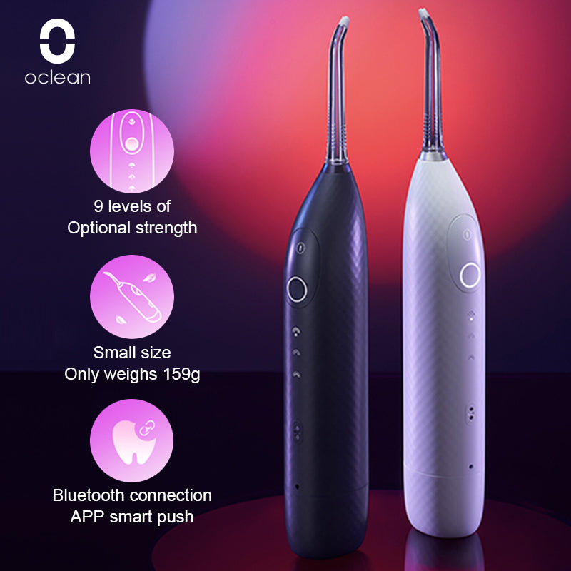 Oclean W1 Smart Oral Irrigator Cordless Water Flosser Teeth Cleaner Dental Water Jet30ml Tank Volume Rechargable Portable Travel