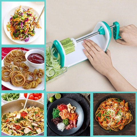 Image of Vegetable Slicer - High quality Manual Spiralizer