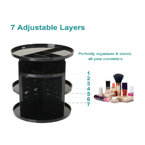 Image of Rotating Makeup Organizer