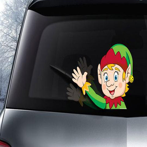 Image of Christmas 2018 Wiper Waver With Decal