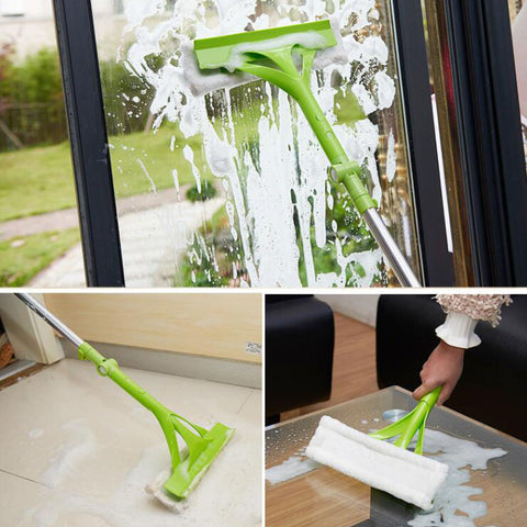Image of Telescopic Window Glass Cleaner