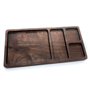 Wooden Valet Tray [Black Walnut]