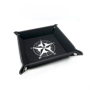 Custom Star Compass Valet Tray [Black]