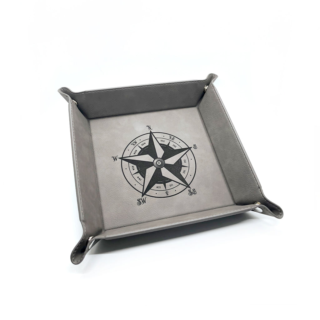 EDC Custom Star Compass Valet Tray [Grey]