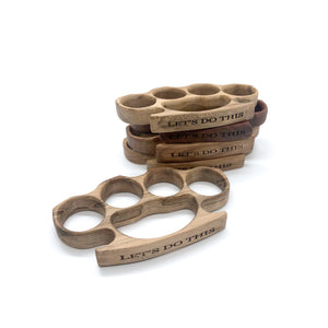 Wooden Knuckles