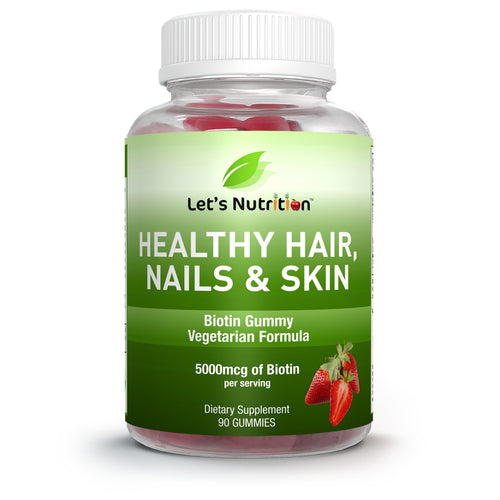 Healthy Hair, Nail & Skin Gummy