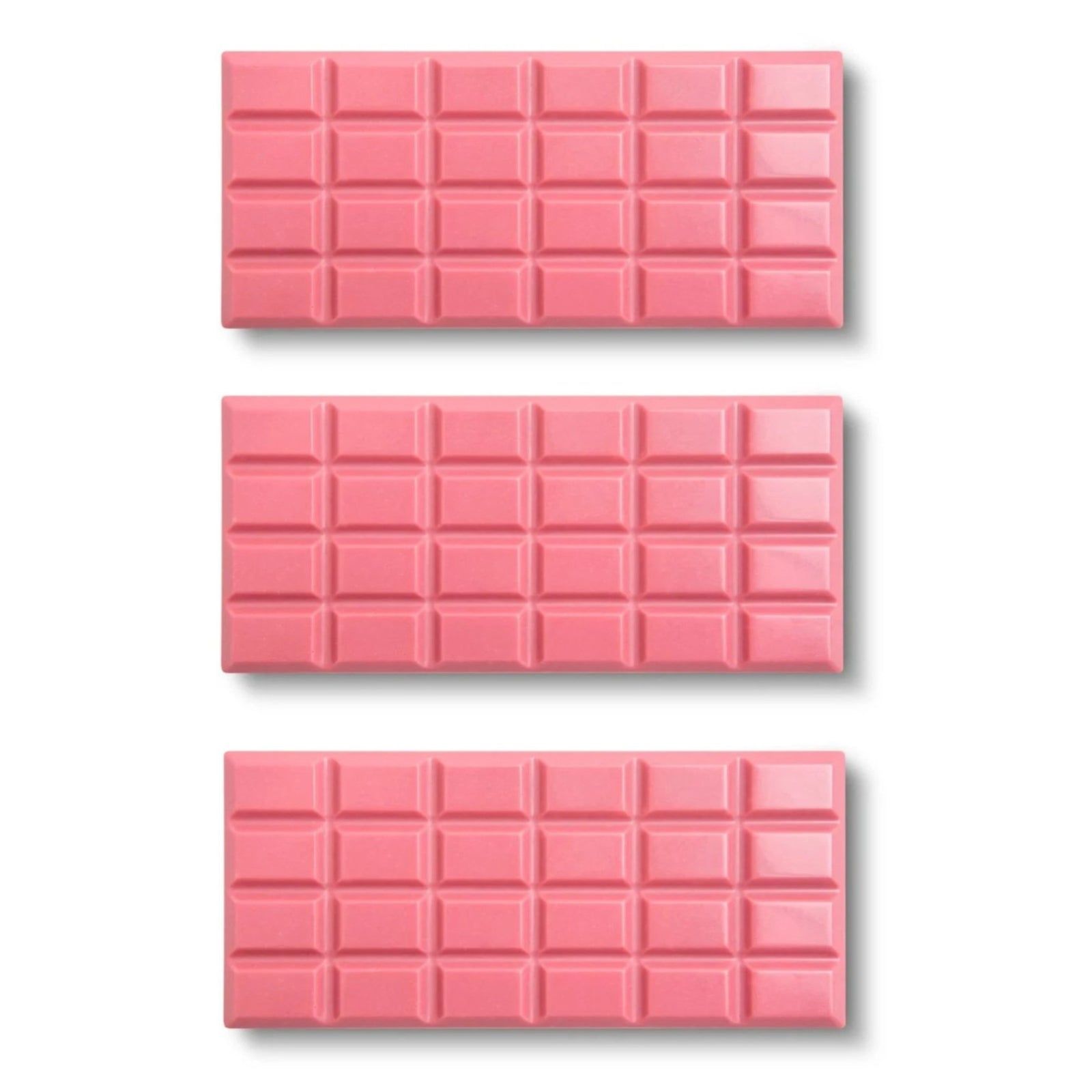 Belgian Ruby Chocolate, 6-Set (2 Each) - Flair Chocolatier