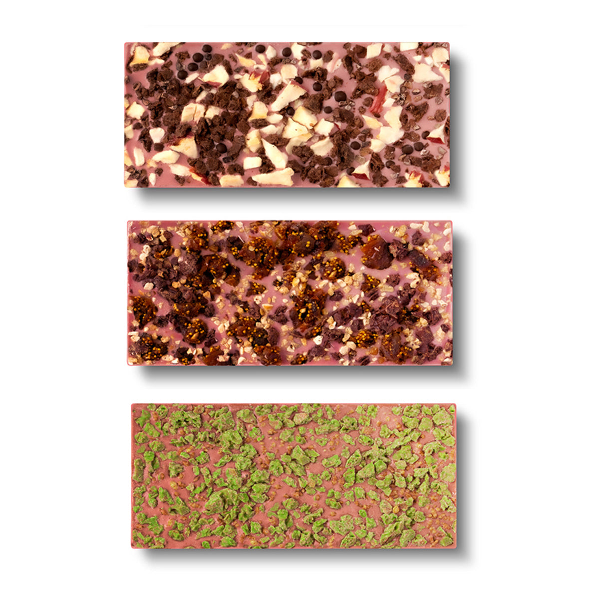 Belgian Ruby Chocolate, 3-Set - Flair Chocolatier