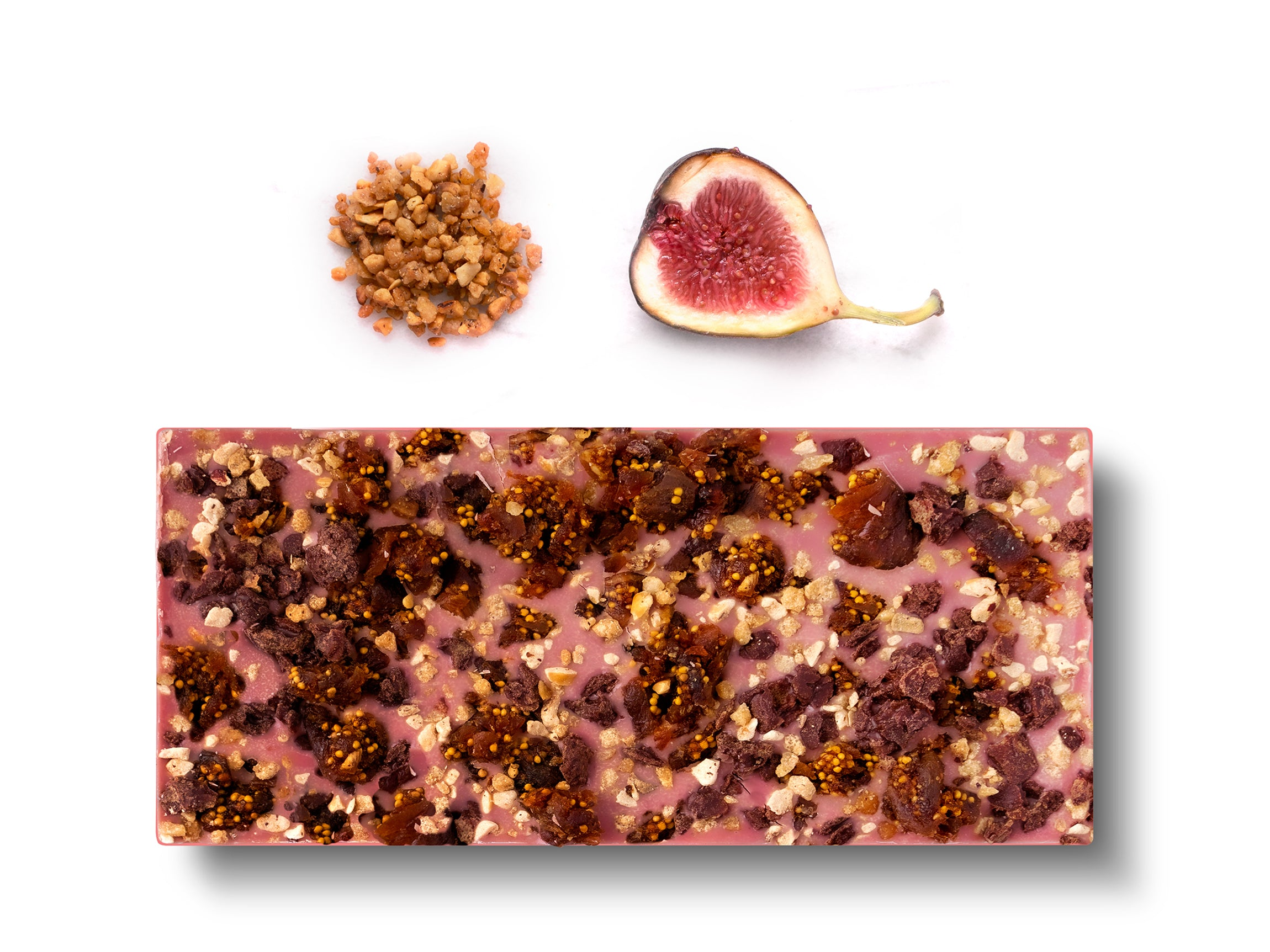 Ruby Chocolate - Paris (French Reserve Grade Fig & Pralines) - Flair Chocolatier