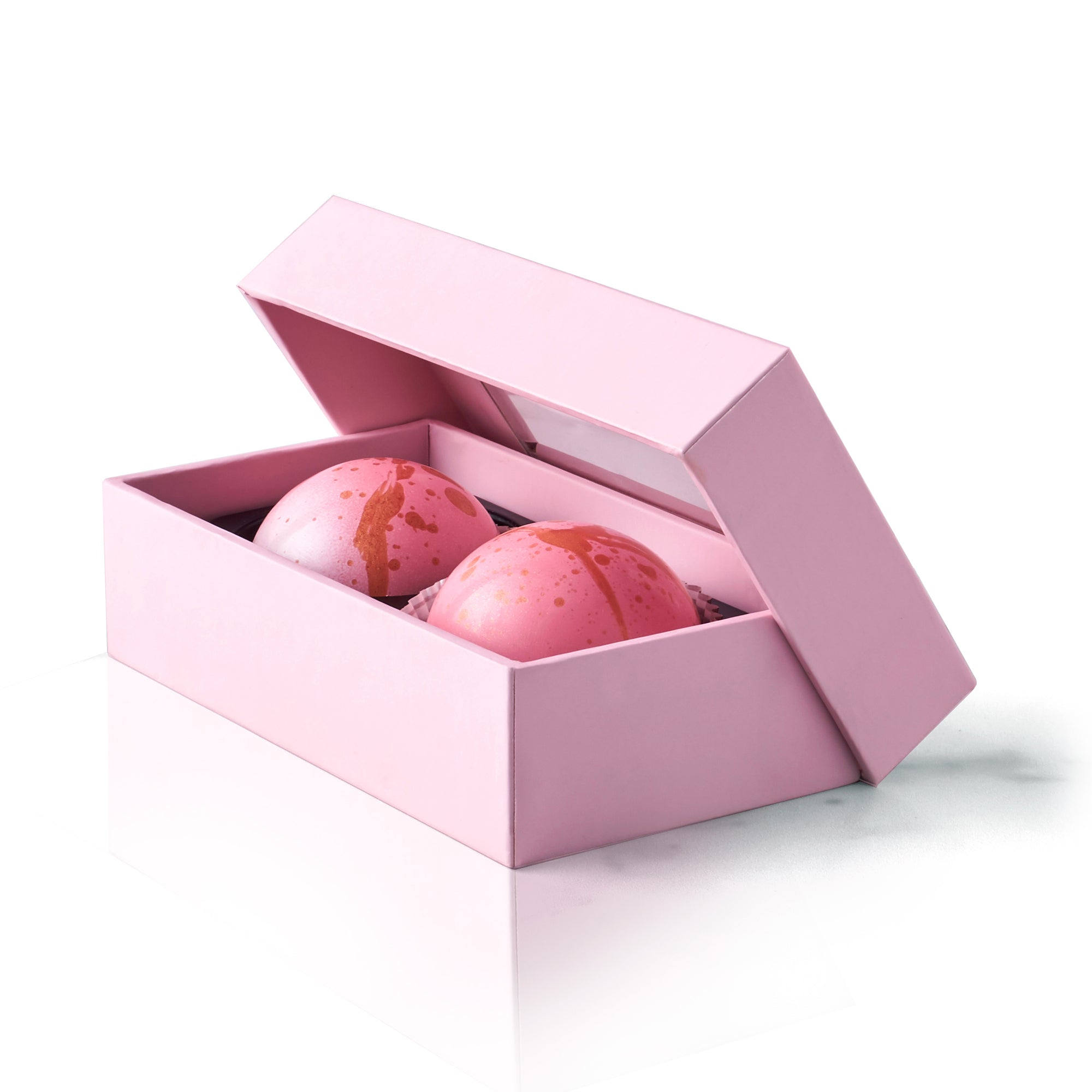 Caramel Crunch Chocolate Truffle Box, 2 pc.