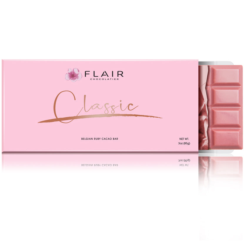 Classic (Set of 7 Ruby Chocolate Bars) - Flair Chocolatier
