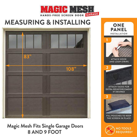 Image of Magic Mesh Hands Free Magnetic Screen