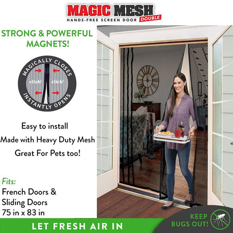 Magic Mesh Hands Free Magnetic Screen