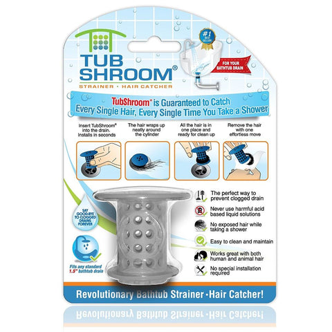 TubShroom The Revolutionary Tub Drain Protector