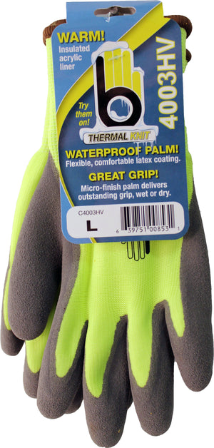 Bellingham Fall/winter  P - Hi-vis Acrylic With Latex Palm Glove (Case of 6 )