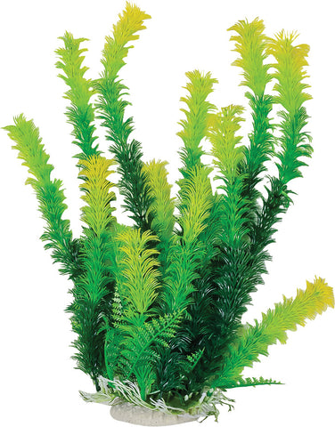 Aquatop Aquatic Supplies - Bushy Aquarium Plant With Weighted Base