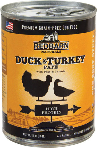 Redbarn Pet Products-food - Pate Dog Cans-high Protein (Case of 12 )