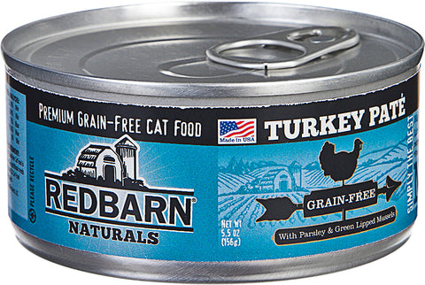 Redbarn Pet Products-food - Redbarn Naturals Pate Cat Can (Case of 24 )