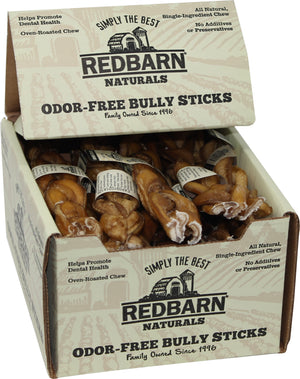 Redbarn Pet Products Inc - Odor Free Braided Bully Stick (Case of 20 )