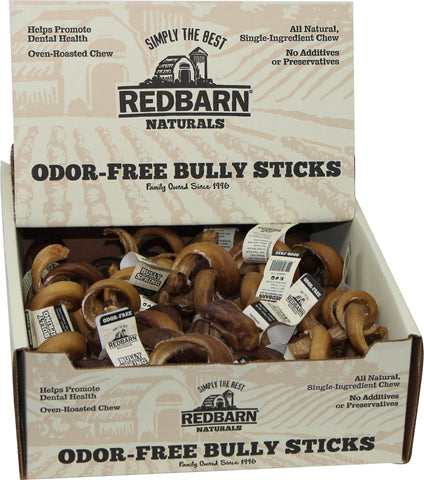 Redbarn Pet Products Inc-Odor Free Bully Springs (Case of 25 )