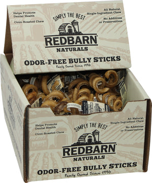 Redbarn Pet Products Inc - Odor Free Mini Bully Spring (Case of 60 )