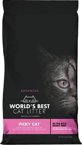 Worlds Best Cat Litter - World's Best Cat Litter Picky Cat (Case of 3 )