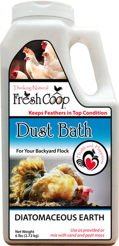Absorbent Products Inc. - Dust Bath For Poultry 6lb