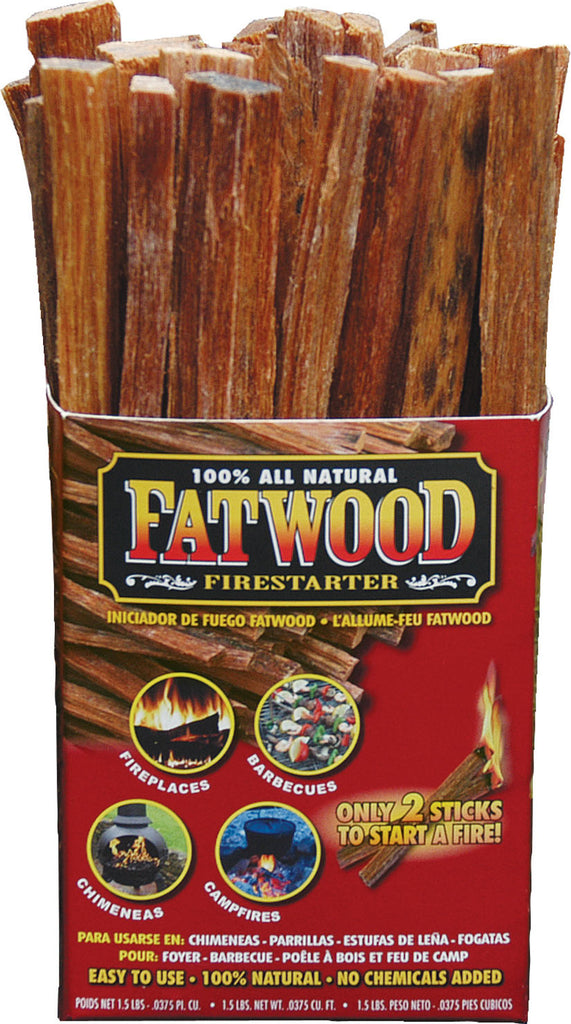 Wood Products Internation - Fatwood Color Box (Case of 16 )