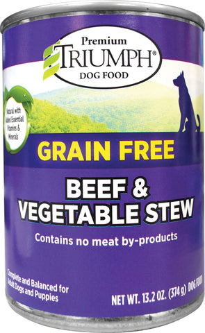 Triumph Pet Industries - Grain Free Stew Canned Dog Food (Case of 12 )