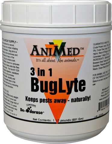 Animed                  D - Buglyte 3 In 1 Insecticide Supplement