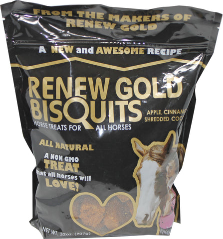 Manna Pro-feed And Treats - Renew Gold Bisquits Horse Treats