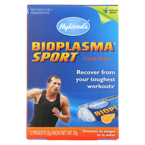 Image of Hylands Homeopathic Bioplasma Sport With Electrolytes - 12 Packets