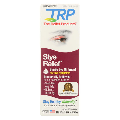 Image of Trp Stye Relief Ointment - .14 Oz