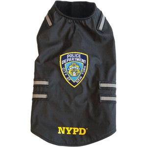 Shafiq NYPD(R) Dog Vest with Reflective Stripes (Large)