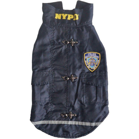 Nurit NYPD(R) Water-Resistant Dog Coat (X-Small)