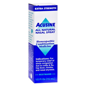Acusine Nasal Spray - .5 Oz - Eco-Friendly Home & Grocery