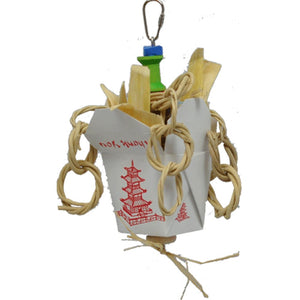 A&e Cage Company - Happy Beaks Chinese Take Out Junior - MULTI / SMALL - Pet