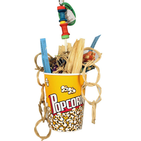 A&e Cage Company - Happy Beaks Movie Time Toy - MULTICOLORED - Pet