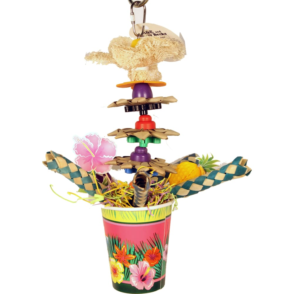 A&e Cage Company - Happy Beaks Tropic Punch Cocktail - MULTICOLORED - Pet