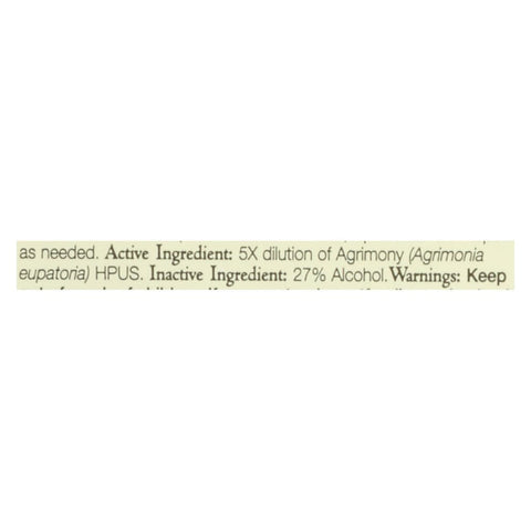 Image of Bach Flower Remedies Essence Agrimony - 0.7 Fl Oz - Eco-Friendly Home & Grocery