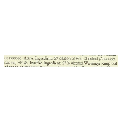 Image of Bach Flower Remedies Essence Red Chestnut - 0.7 Fl Oz - Eco-Friendly Home & Grocery