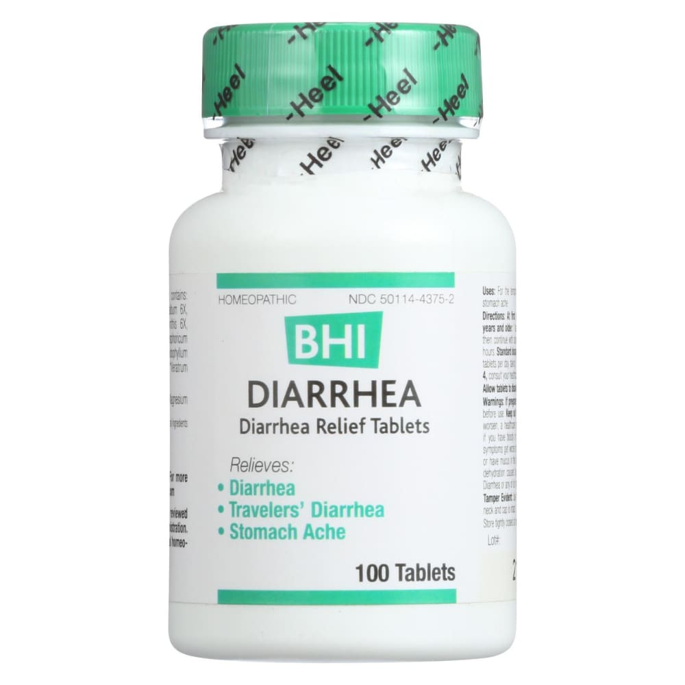 Bhi Diarrhea Relief - 100 Tablets - Eco-Friendly Home & Grocery