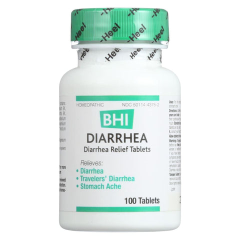 Image of Bhi Diarrhea Relief - 100 Tablets - Eco-Friendly Home & Grocery